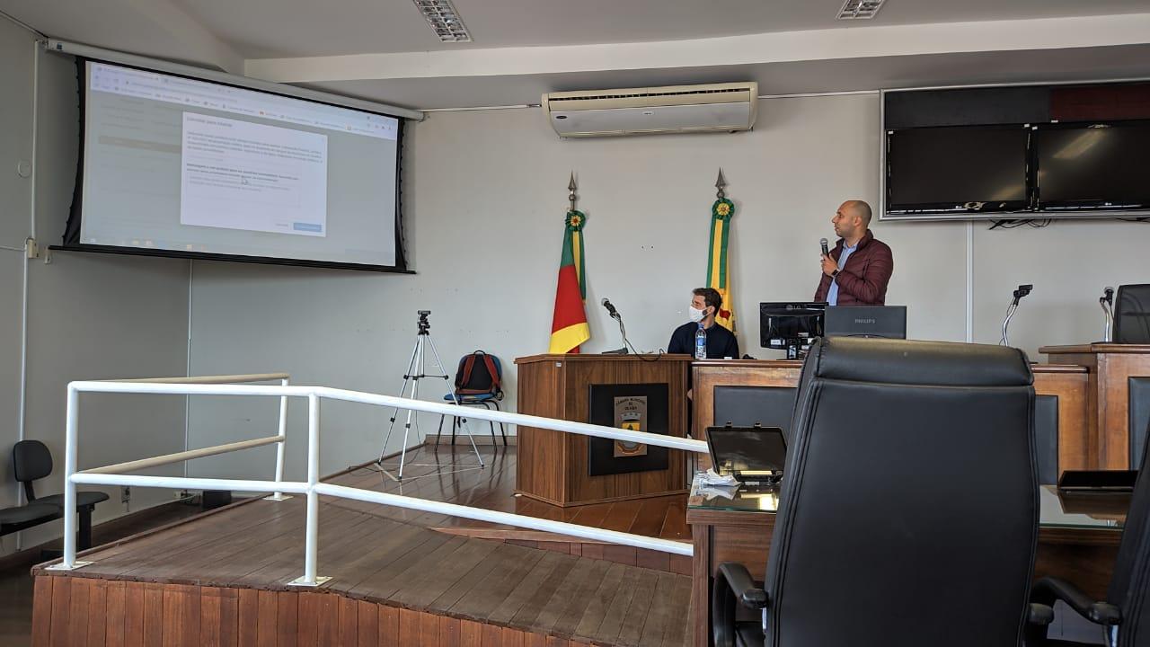 Certificação Digital - Treinamento para servidores e vereadores de Guaíba