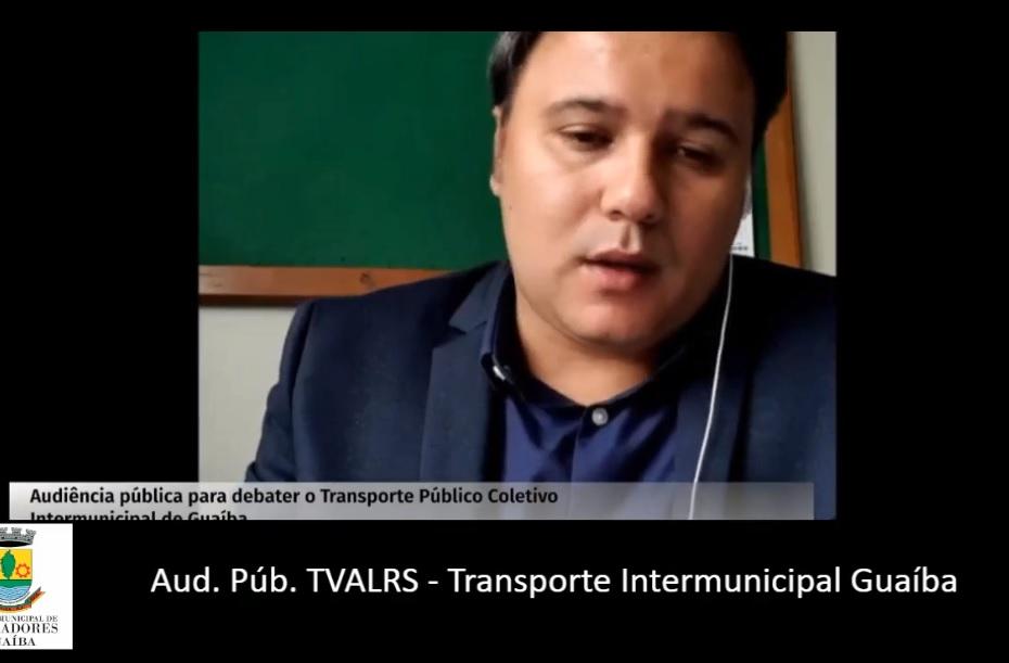 Audiência Pública - Vereador Juliano Ferreira participa de audiência sobre transporte público intermunicipal