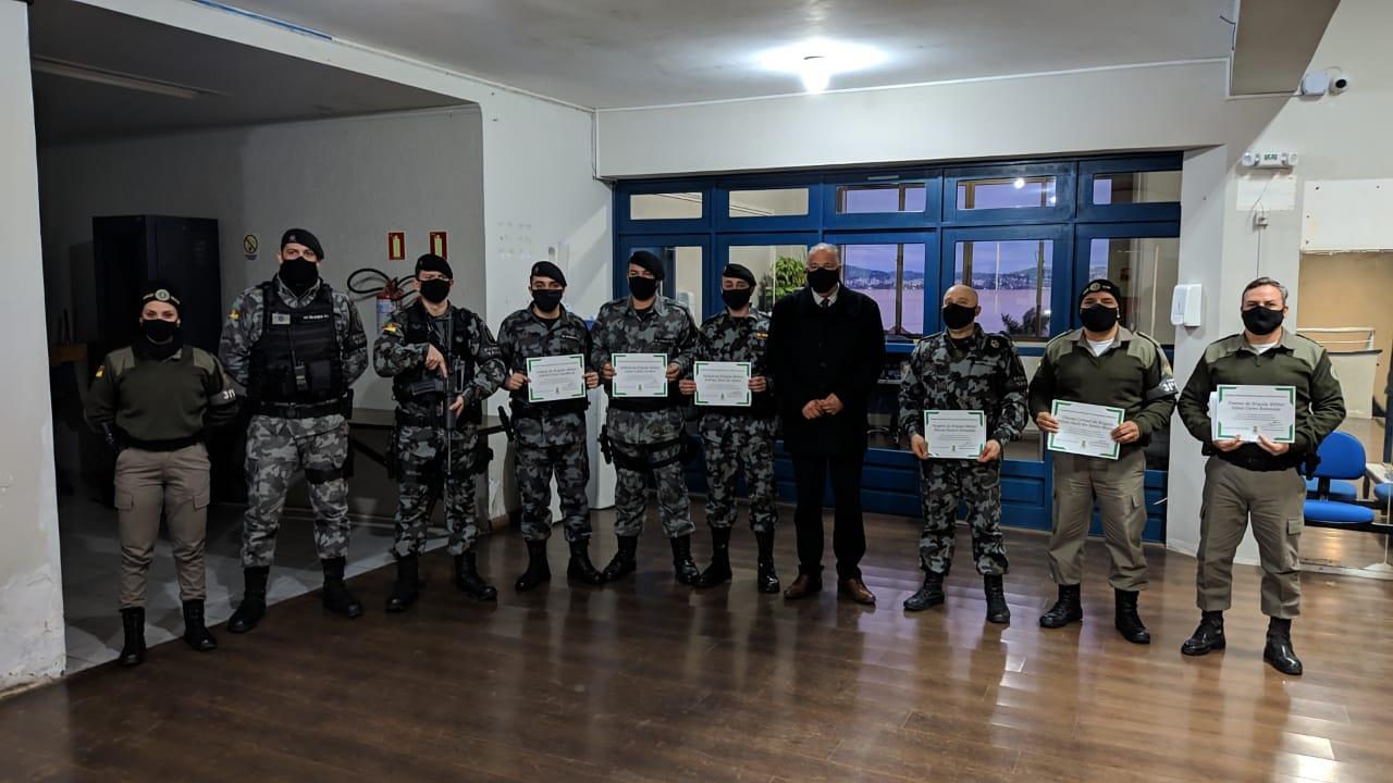 Homenagem a Brigada Militar