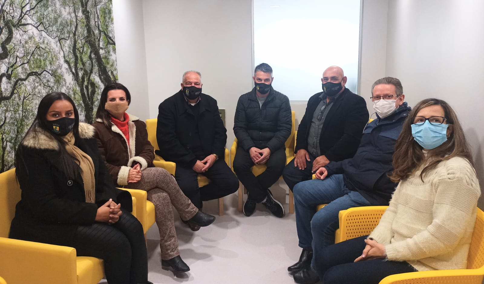 Vereadores visitam sede do CRAI na Capital