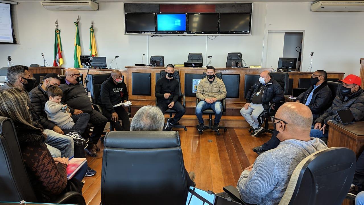 Frente Parlamentar do Esporte -Reunião com integrantes da Diretoria de Esportes do Município