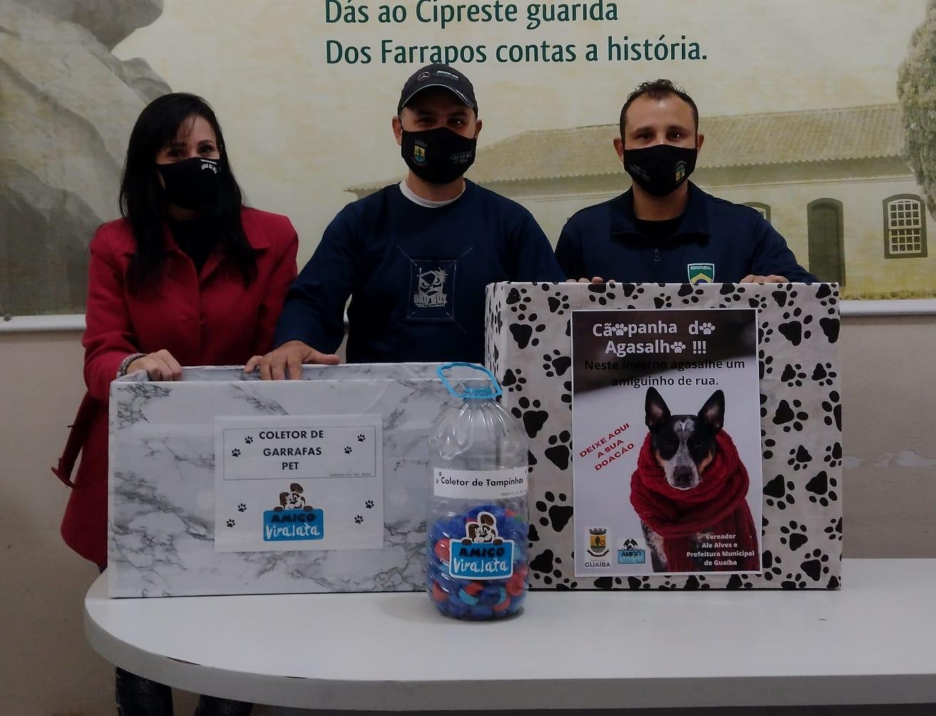 Vereador Ale Alves organiza campanha de arrecadação de agasalhos para animais