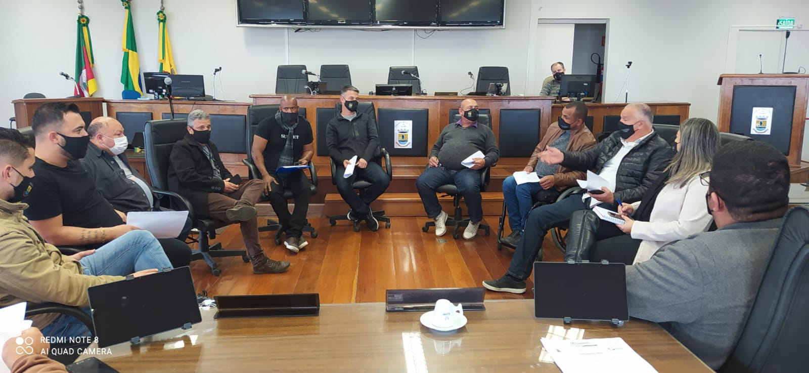 Atividades Esportivas – Frente Parlamentar do Esporte realiza reunião com diretoria de esportes