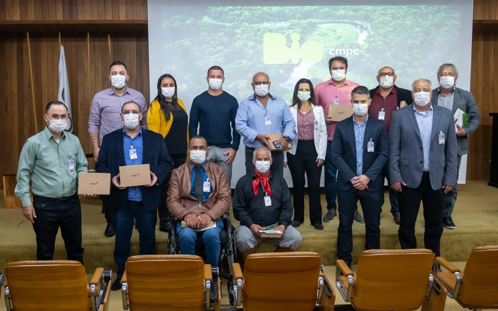 Vereadores visitam Fábrica e conhecem o projeto Bio CMPC