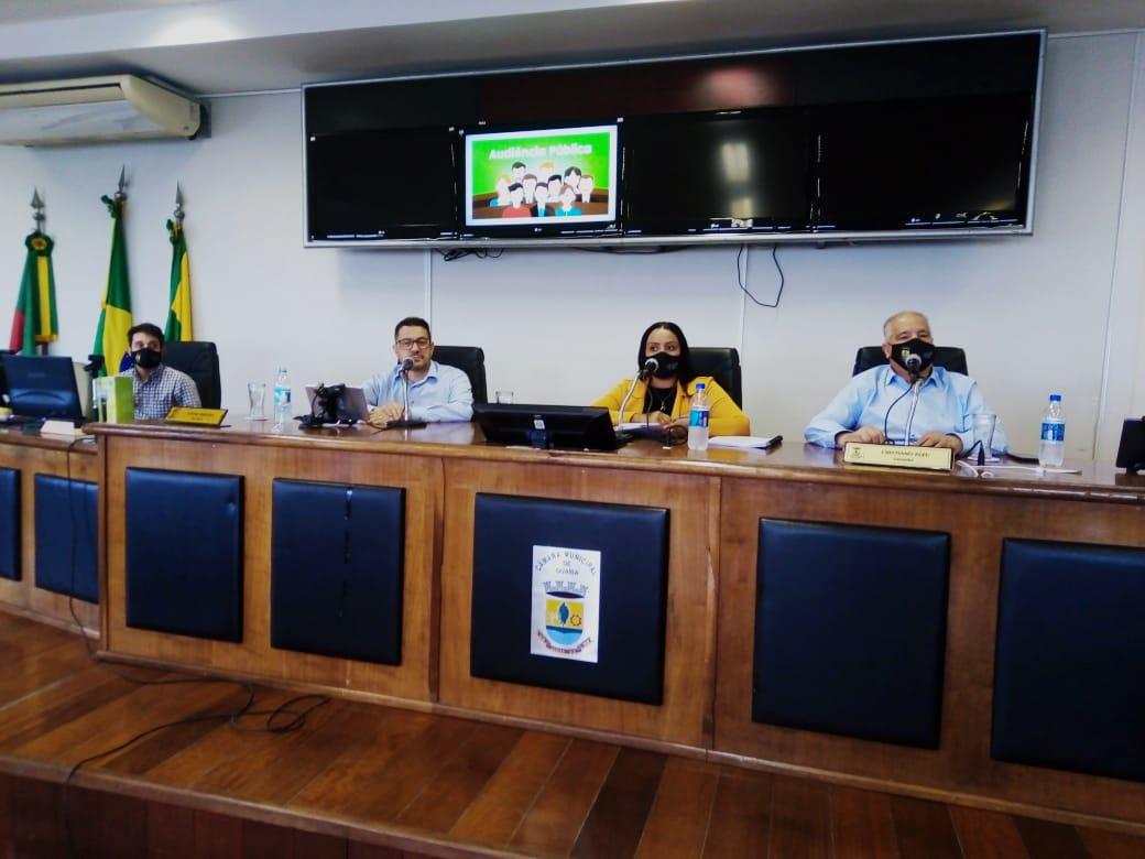 Audiência Pública apresenta finanças do segundo quadrimestre no Município