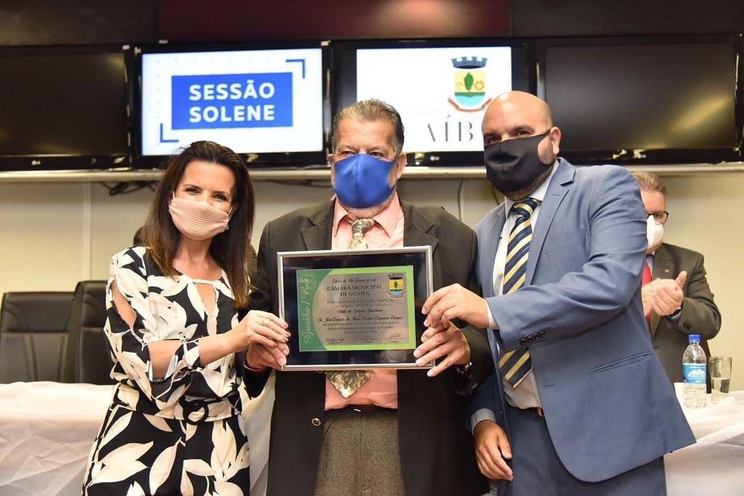Campeão Vargas recebe título de Cidadão Guaibense