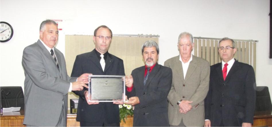 Sicredi é homenageado pelo Legislativo