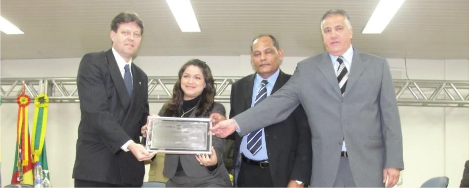 ULBRA recebe homenagem do Legislativo Guaibense