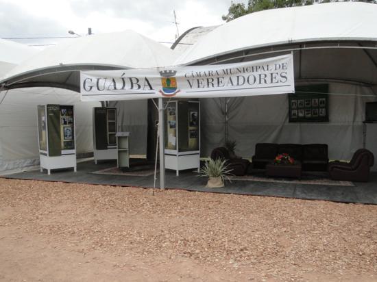 Câmara de Vereadores participa da 14ª Expofeira Centro-Sul