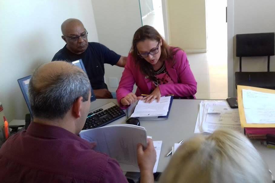 Comissão de Vereadores visita a Secretaria de Saúde