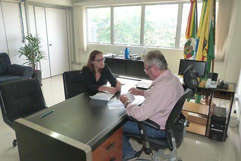 Vereadora Claudinha Jardim na luta por políticas públicas de inclusão
