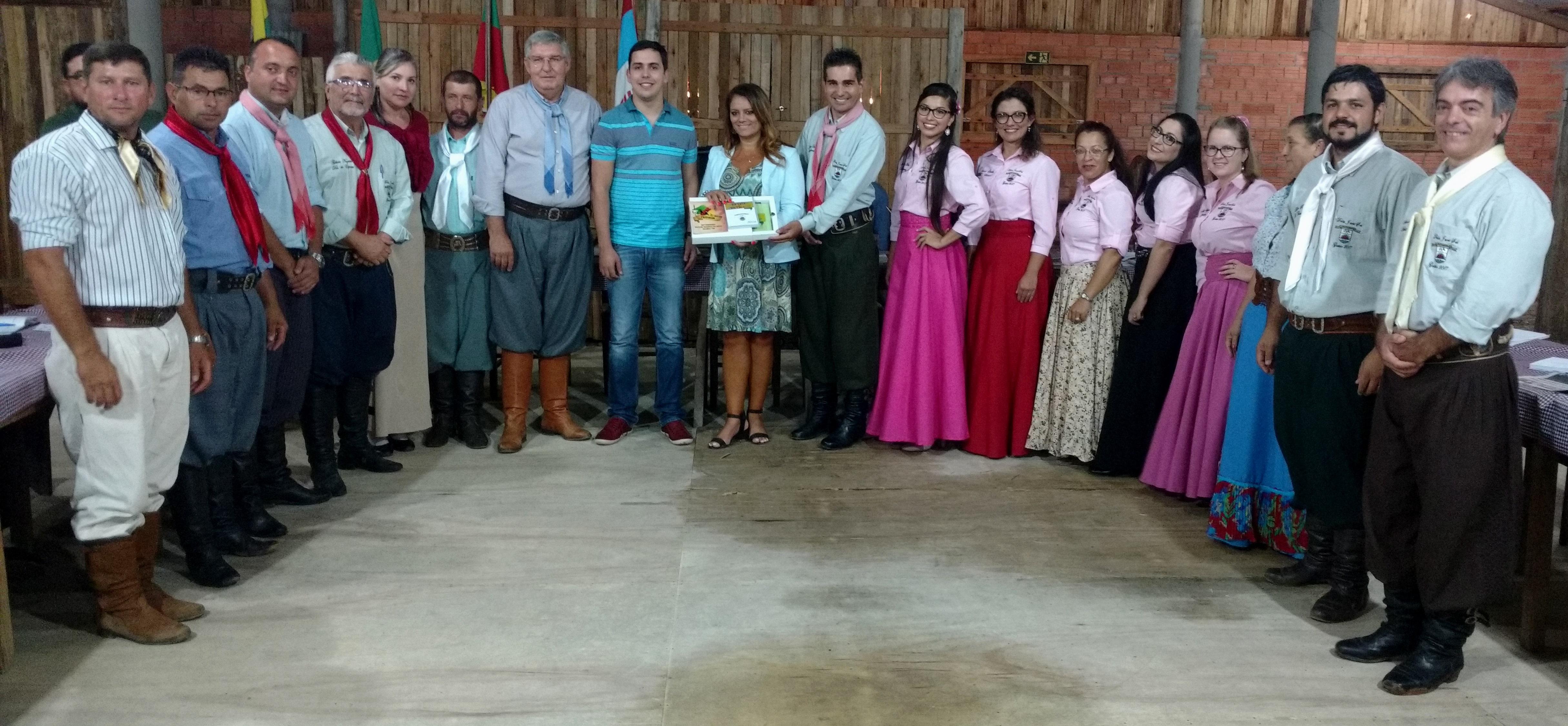 Presidente do Legislativo participa do Encontro Regional de Patrões de CTG