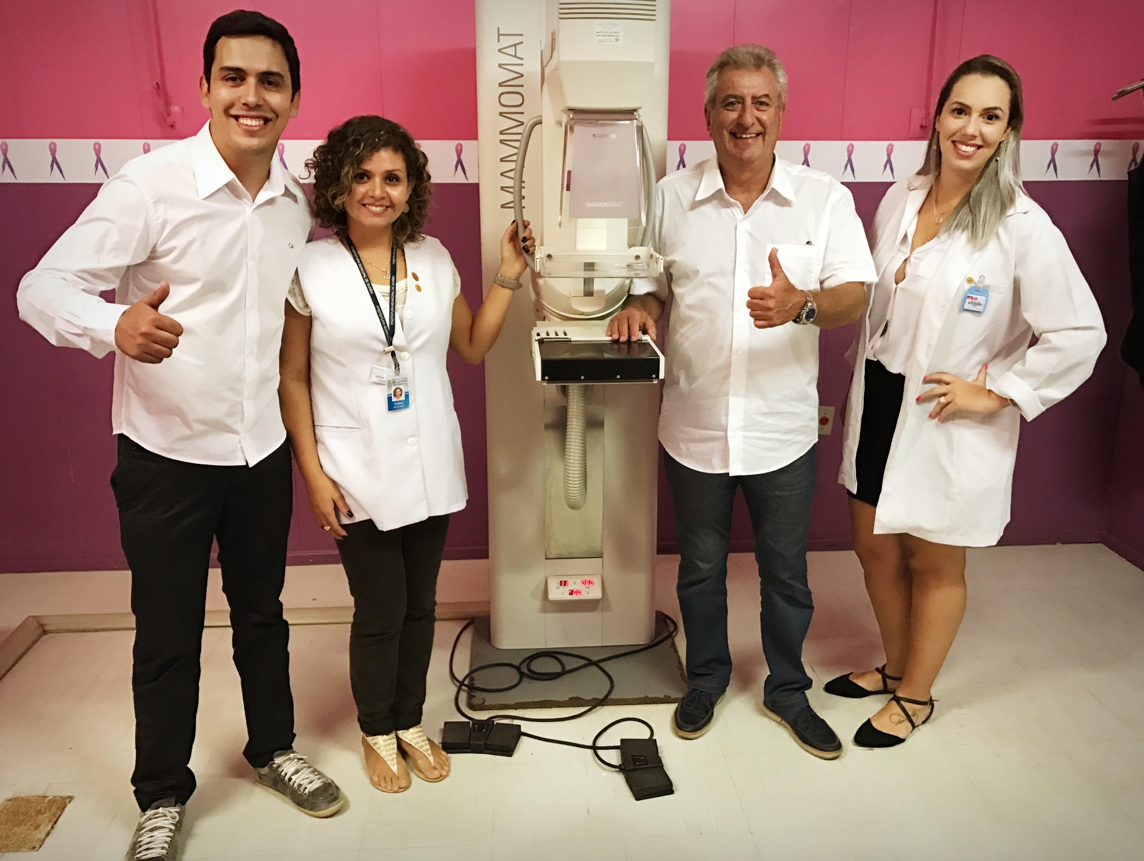 No Dia da Mulher, Guaibenses voltam a contar com exames de mamografia