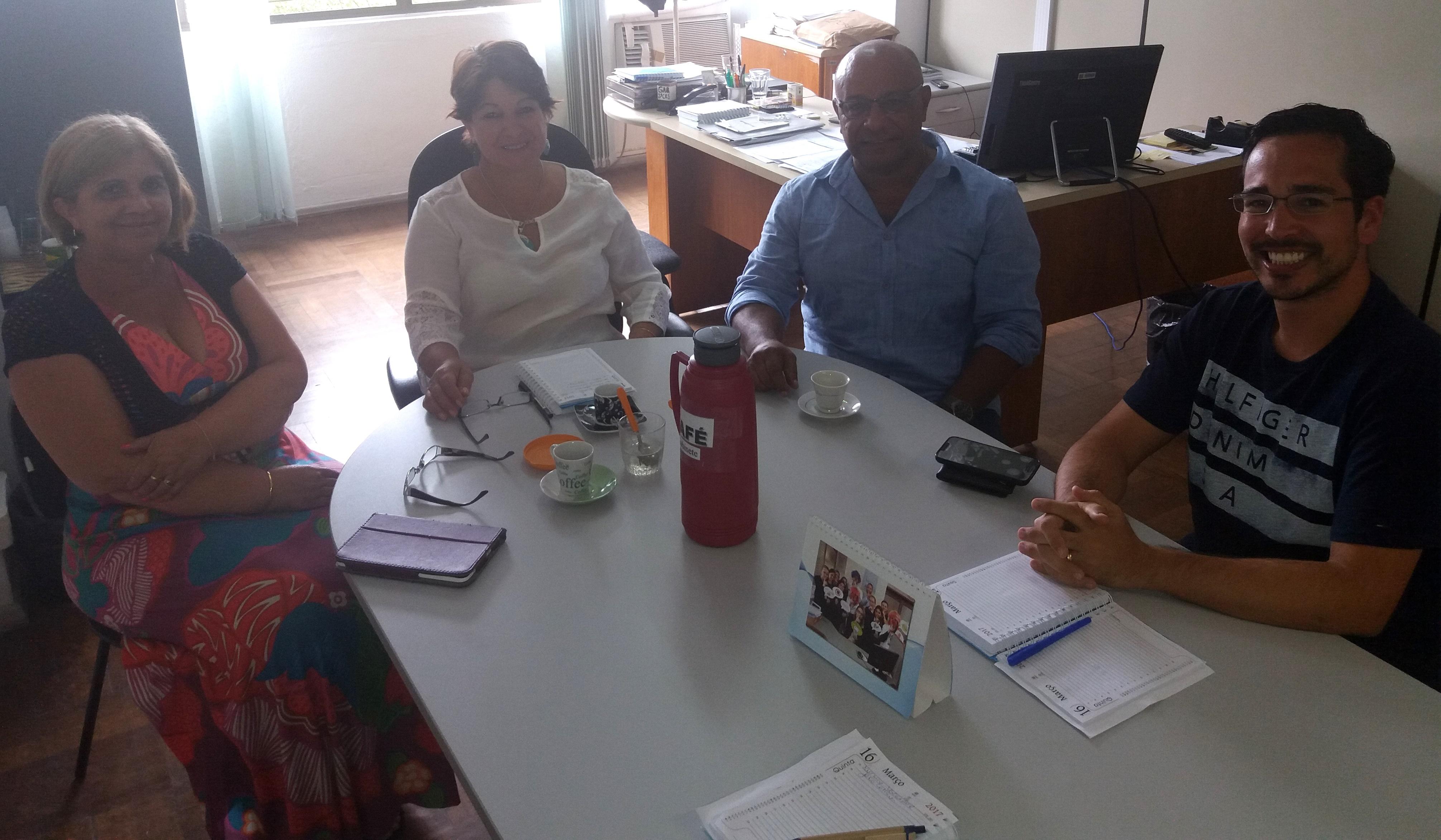 Vereador Dr. João Collares visita a 2ª Coordenadoria Regional de Saúde