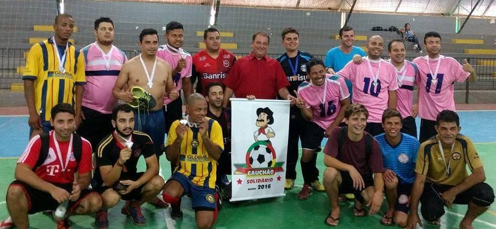 Vereador Nelson do Mercado prestigia o 2º Gauchão Solidário de Futsal