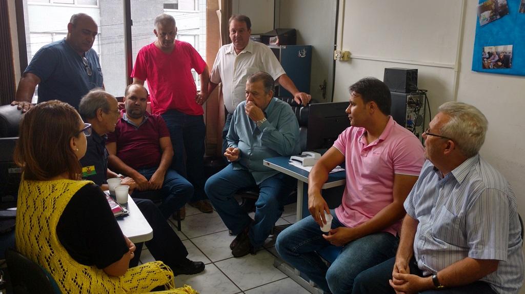 Vereadores recebem visita do Presidente da APAE Guaíba