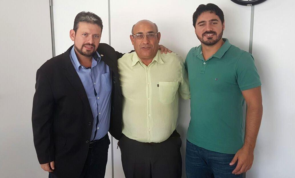 Vereador Florindo Motorista recebe a visita do Deputado Estadual Edu Oliveira