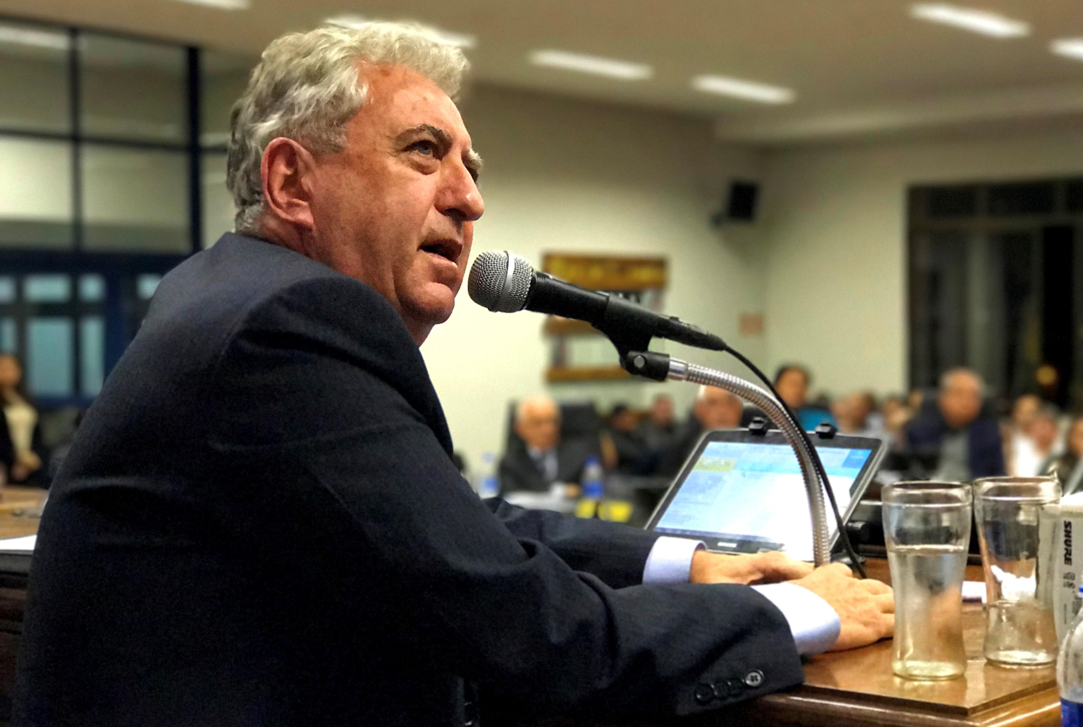 Prefeito Sperotto vai à Câmara de Vereadores prestar contas dos 100 primeiros dias de seu Governo