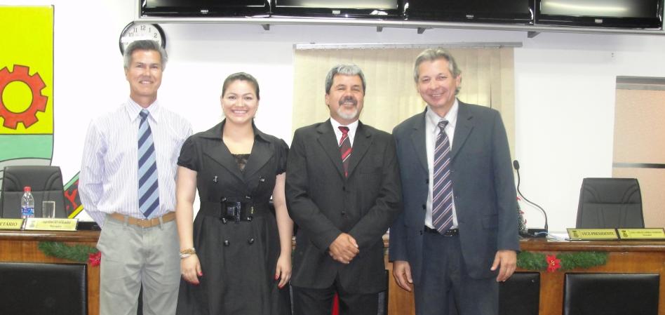 Caio Larréa é eleito novo presidente da Câmara Municipal
