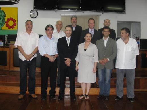 Terex realiza apresentação da Parceria Público-Privada na Câmara de Vereadores.