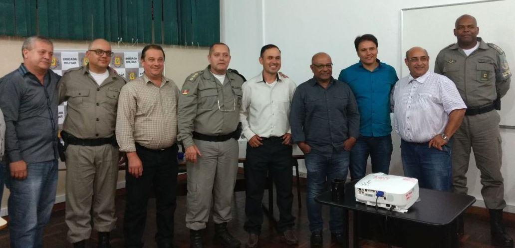 Brigada Militar apresenta números aos Vereadores de Guaíba