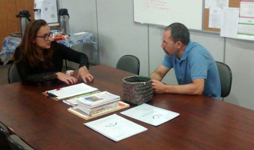 Vereadora Prof.ª Claudinha Jardim visita Escola Solon Tavares