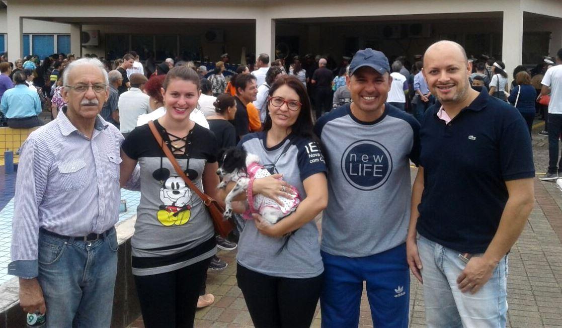 Vereador Ale Alves participa da Marcha para Jesus