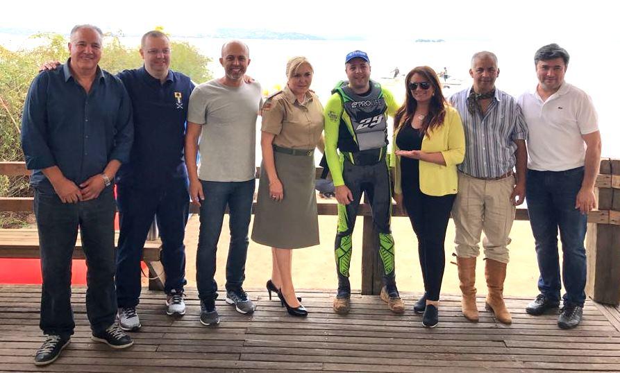 Vereadores prestigiam Campeonato Gaúcho de Jet Ski em Guaíba