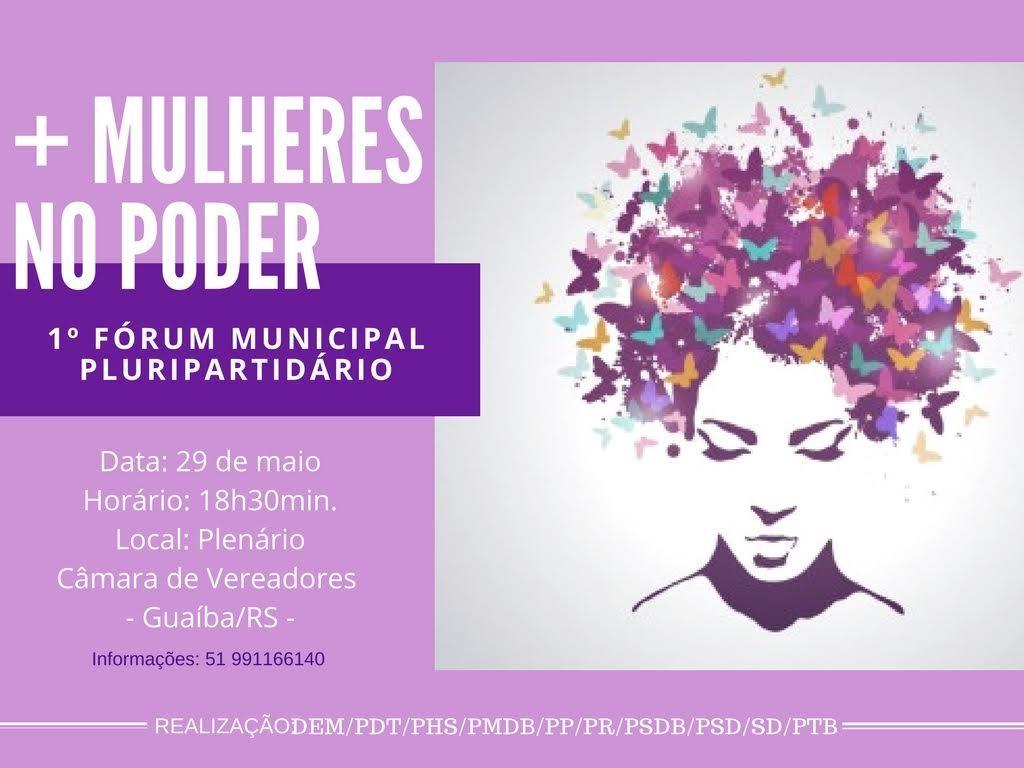 Fórum Municipal de Mulheres Pluripartidárias