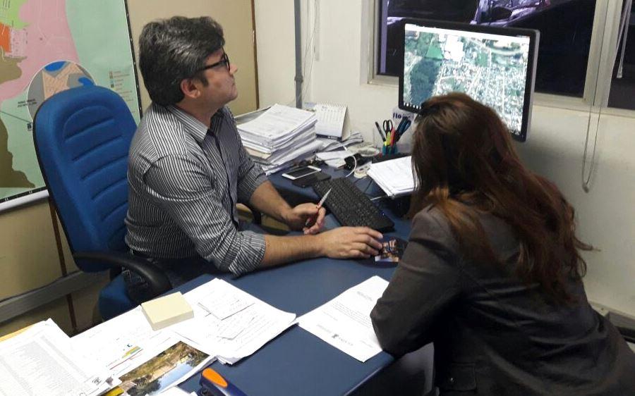 Claudinha Jardim tem reunião com Diretor de Habitação