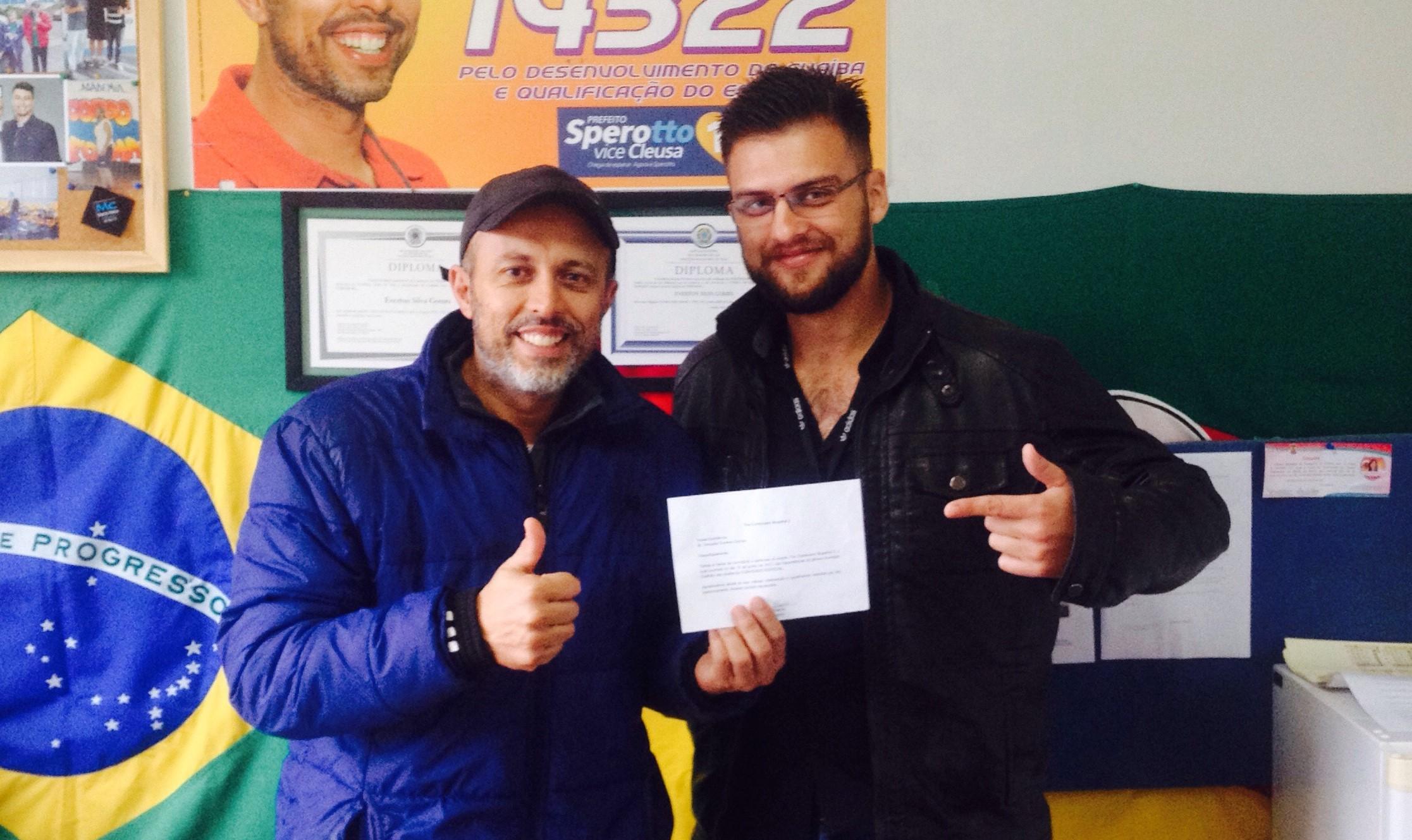 Muay Thai em Guaíba recebe o apoio do Vereador Everton da Academia