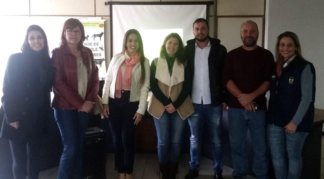 Controle de Zoonoses de Guaíba realiza palestra sobre Leishmaniose