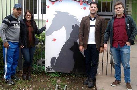 Vereador Ale Alves visita a Secretaria Municipal de Proteção Animal de São Leopoldo - SEMPA
