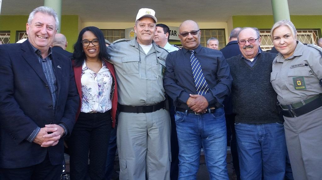 Vereador Dr. João Collares participa da comemoração do 13° aniversário do CRPO/CS e apresentação dos 241 novos alunos do Curso de Formação de Soldados da BM