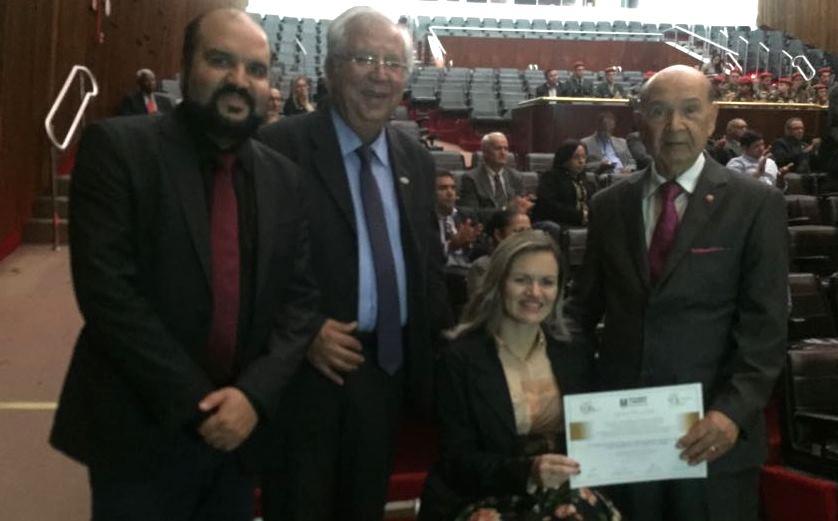 Vereadores de Guaíba prestigiam homenagem pela passagem dos 80 anos da Igreja Assembleia de Deus