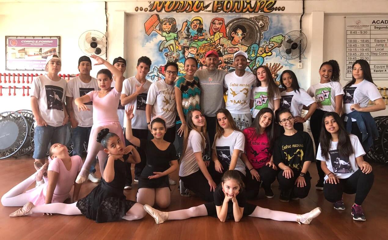 Vereador Everton da Academia apoia Projetos Sociais de Dança na cidade