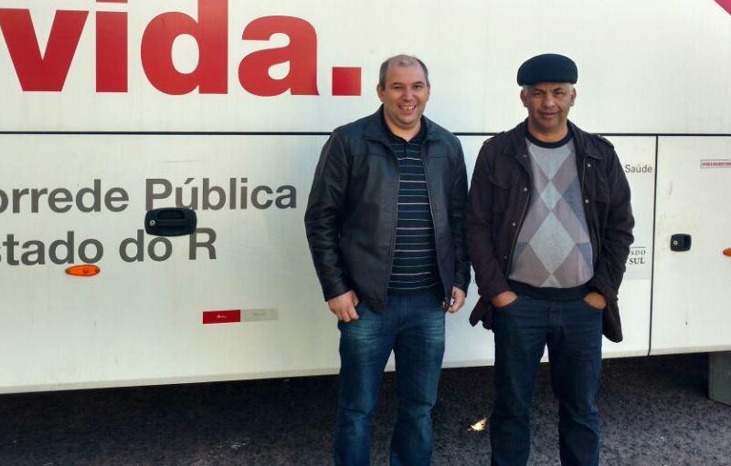 Vereador Manoel Eletricista participa do Dia de Doação de Sangue em Guaíba