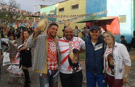 Vereador Ale Alves participa de evento da escola de samba Estado Maior da Colina