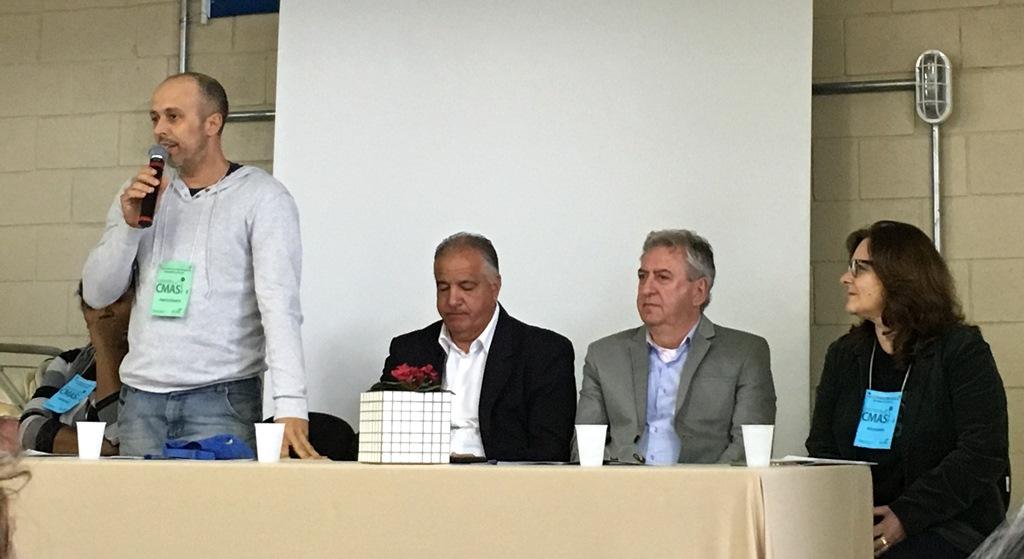 Vereador Everton da Academia representa o Legislativo na VIII Conferência Municipal de Assistência Social