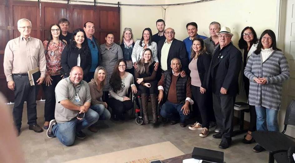 Vereador Florindo Motorista participa de reunião com o COMDICA