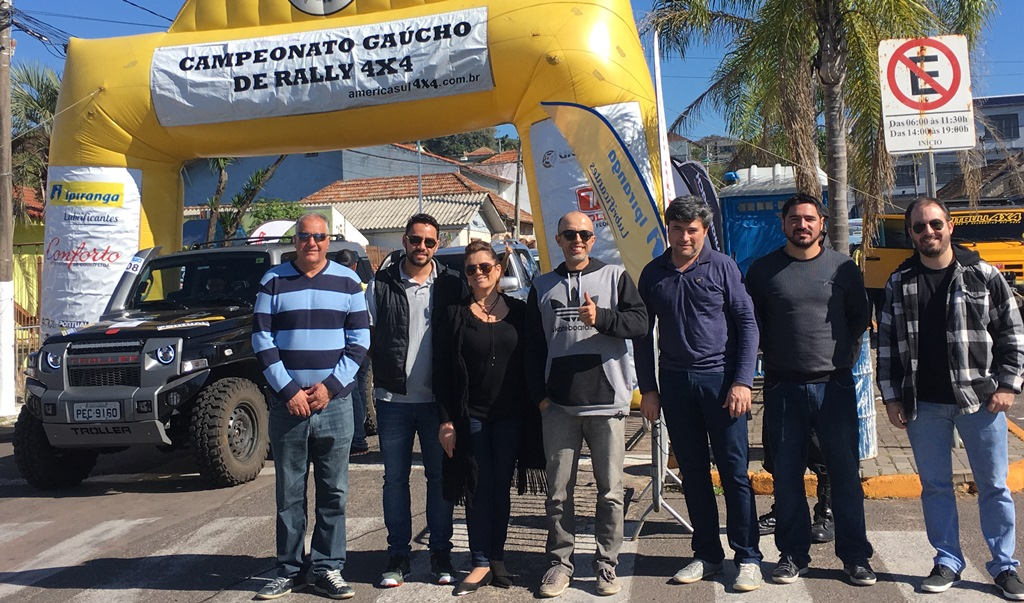 Vereador Everton da Academia prestigia Campeonato Gaúcho de Rally 4x4
