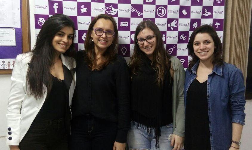 Professora Claudinha Jardim recebe estudante que faz Trabalho de Conclusão de Curso (TCC) sobre empoderamento Feminino