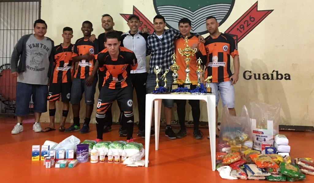 Vereador Everton da Academia prestigia Torneio de Futsal beneficente