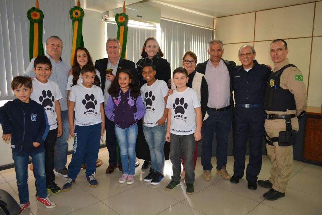 Vereador Manoel Eletricista participa do lançamento do Festival Estudantil de Trânsito (FETRAN)