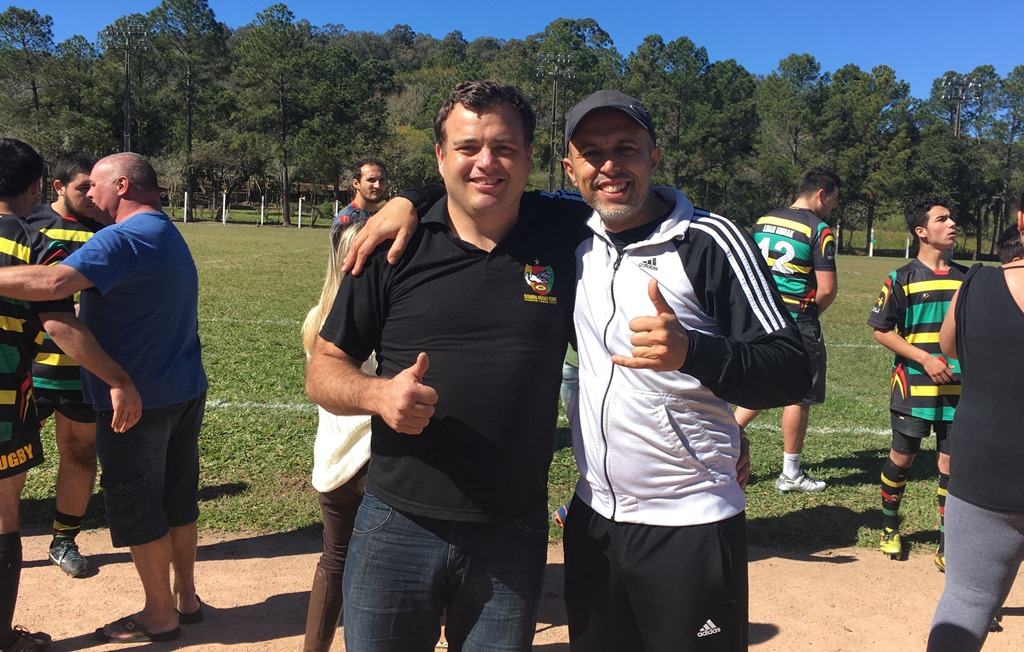 Vereador Everton da Academia acompanha Campeonato Gaúcho de Rugby