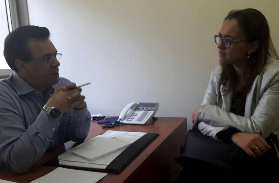 Professora Claudinha Jardim se reúne com presidente da Frente dos Idosos da Capital