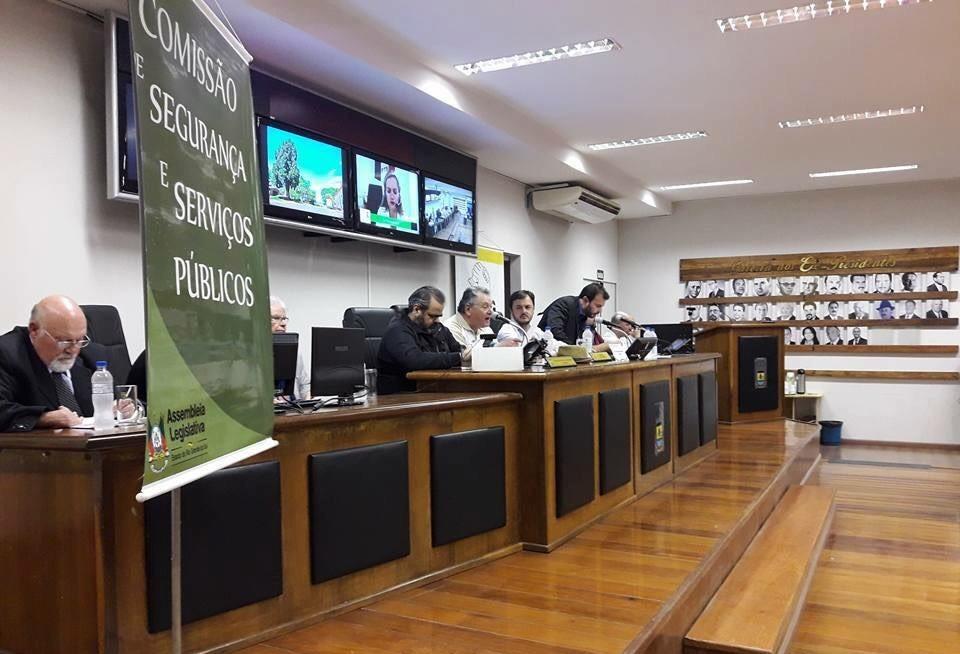 Vereador Miguel Crizel representa Câmara em Audiência Pública