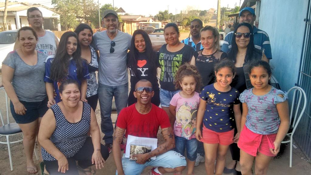 Vereador Everton da Academia apoia o Grupo Favela Feliz