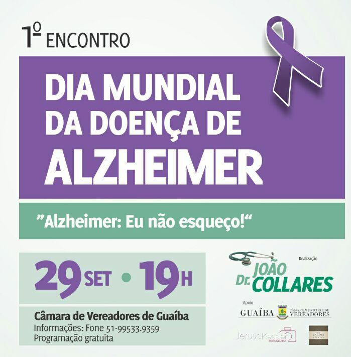 1º Encontro do Dia Mundial da Doença de Alzheimer