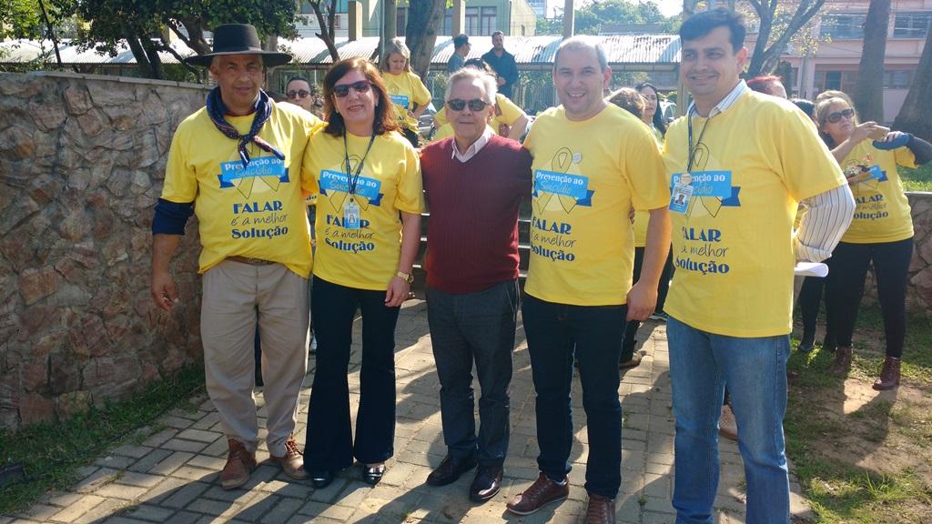 Vereador Manoel Eletricista participa do Setembro Amarelo